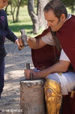 Frappe de monnaies antiques Legio VI Victrix
