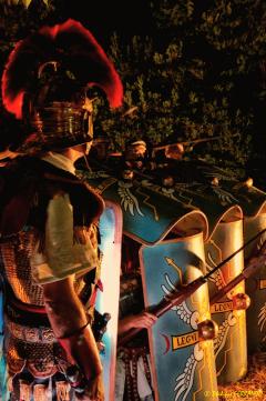 Légionnaires et gladiateurs à Villa Glanum St-Rémy