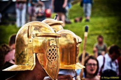 Gladiateurs Provocators de Via Temporis