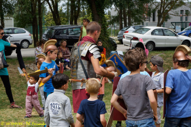 Feria des Enfants - Nîmes 2014 - atelier petits légionnaires